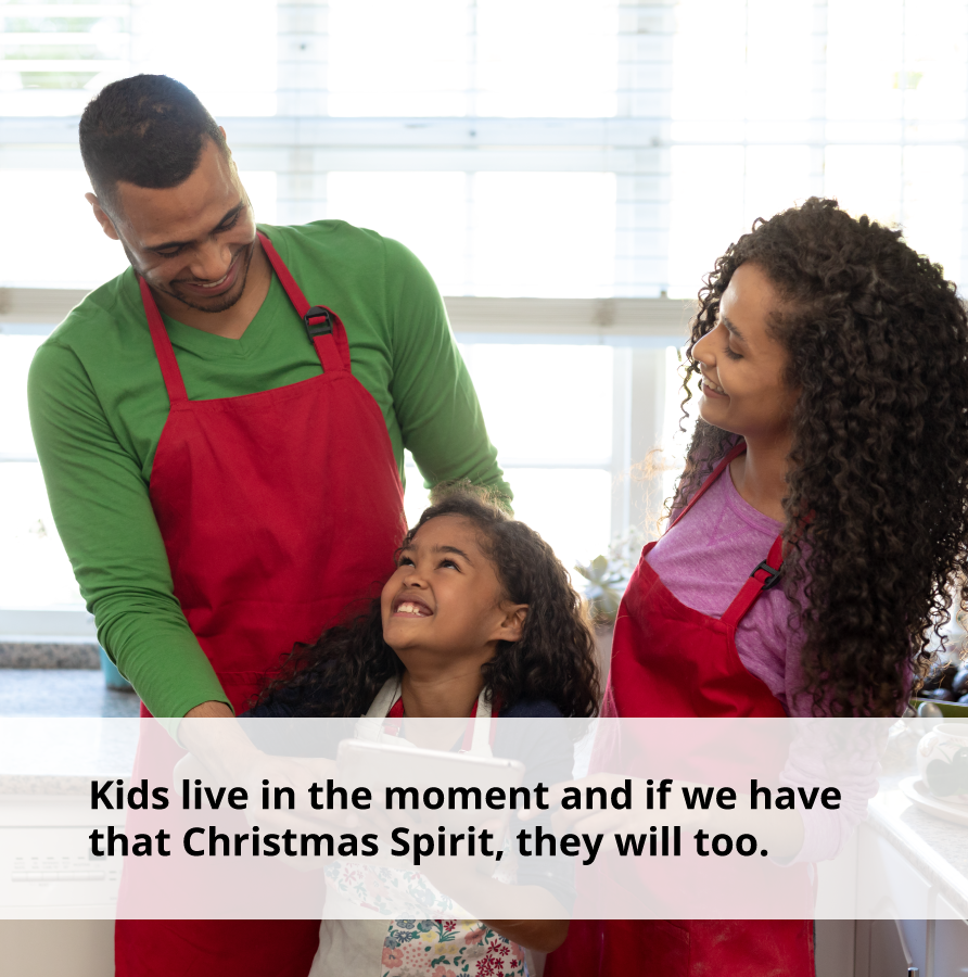 If we are positive this holiday, our children will be too.