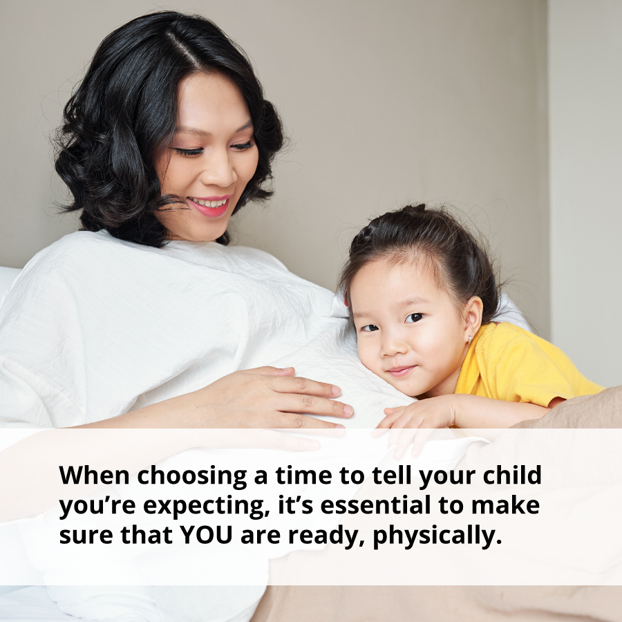 Navigating Life's Ups and Downs: How to Tell Your Children You?re Expecting