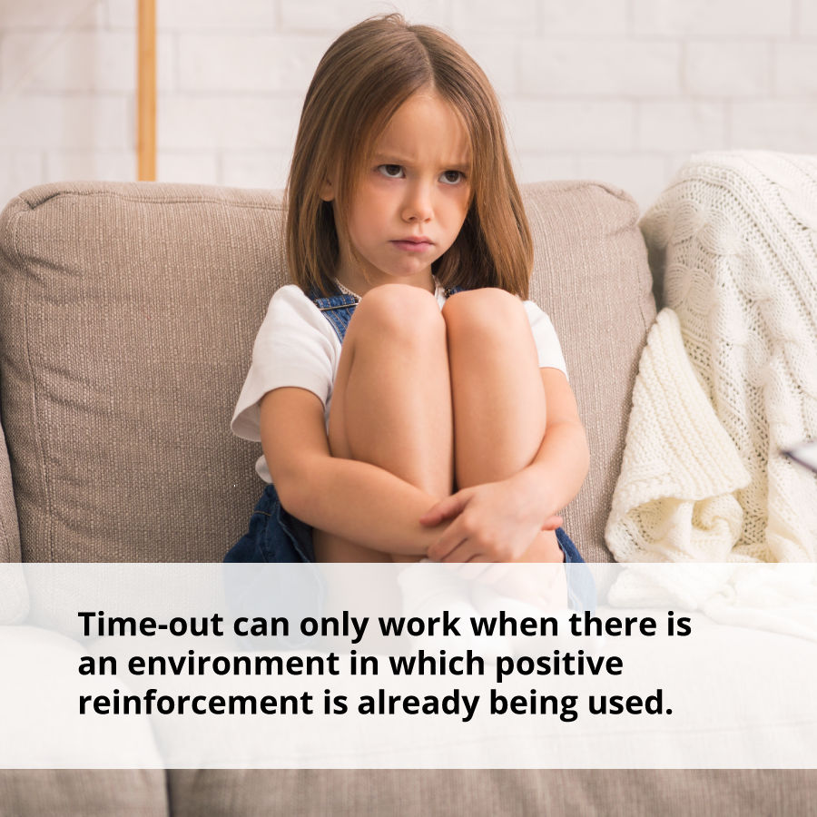 Time-out can only alleviate stress in an environment where positive reinforcement is already being used.