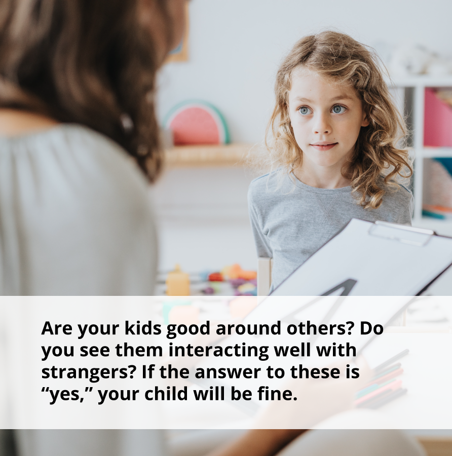 If your children are good around others, they will learn how to be emotionally aware.