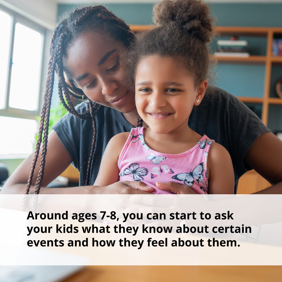 To help control emotions, take a moment to recognize where your child's knowledge and emotional maturity are.