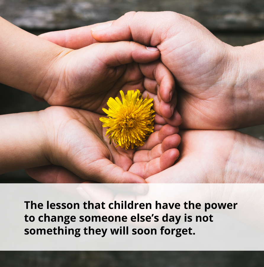 Kindness can provide tips on how to make your child more positive.