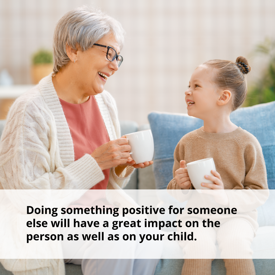 Acts of kindness have positive impacts on everyone involved.